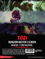 Dungeons & Dragons: Dunegon Master's Screen 5.0 - Rage of Demons