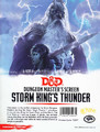 Dungeons & Dragons: Dunegon Master's Screen 5.0 - Storm King's Thunder