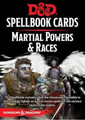 D&D Spellbook Cards - Martial Powers & Races - Revised - 61 Cards
