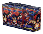 DC HeroClix: Superman/Wonder Woman Booster Brick (8+1 boosterów)