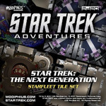 Star Trek Adventures RPG: The Next Generation Starfleet Deck Tiles