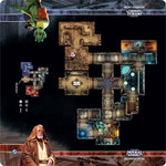 Imperial Assault: Anchorhead Cantina Skirmish Map