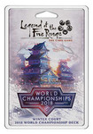 Legenda Pięciu Kręgów LCG - Winter Court 2018 World Championship Deck