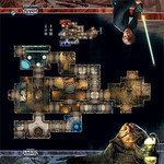 Imperial Assault: Jabba's Palace Skirmish Map