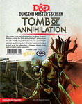 Dungeons & Dragons: Dunegon Master's Screen 5.0 - Tomb of Annihilation