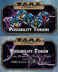 Torg Eternity - Possibility Tokens